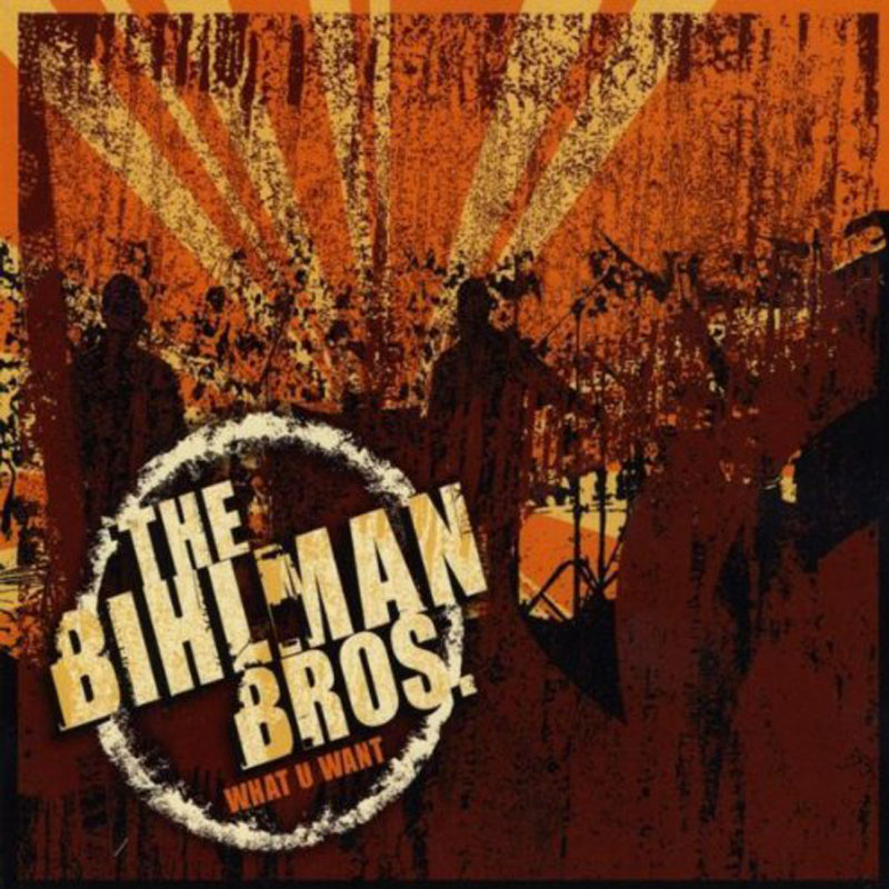 bihlman brothers what you want album cover